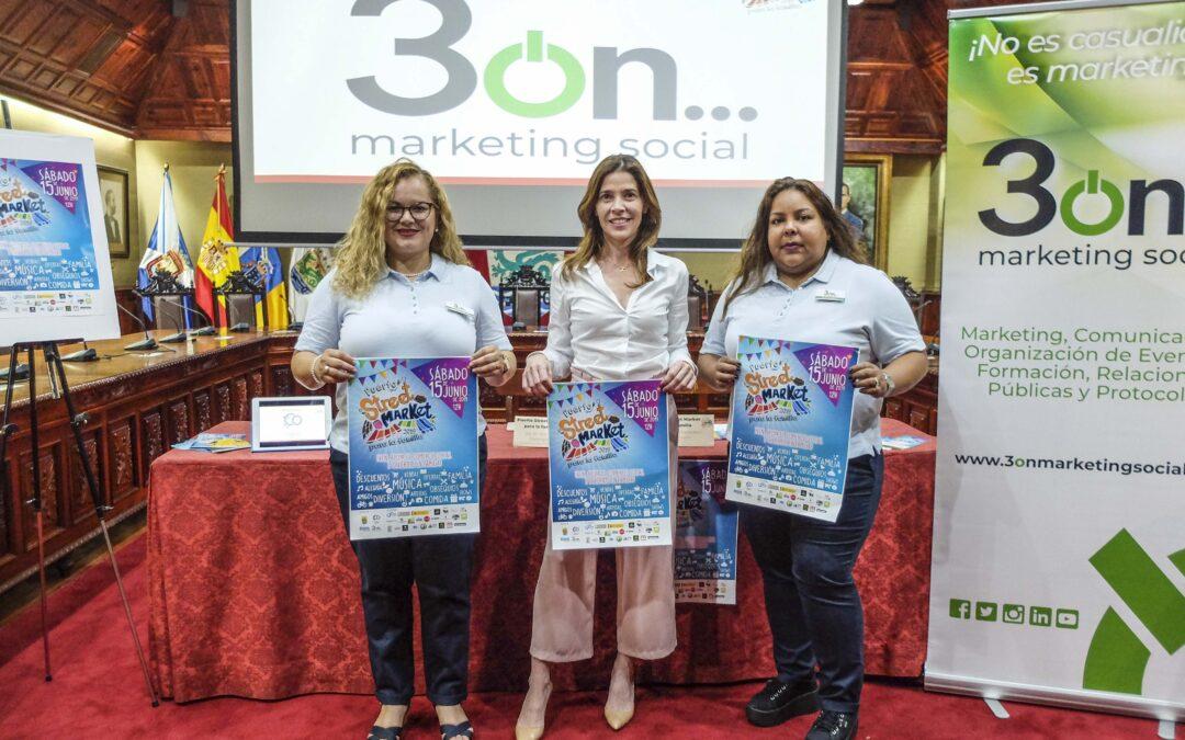 Vuelve el Puerto Street Market, con más fuerza, unión e ilusión para la familia