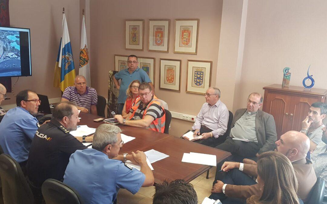 Puerto de la Cruz se coordina para garantizar la seguridad durante las Grandes Fiestas de Julio