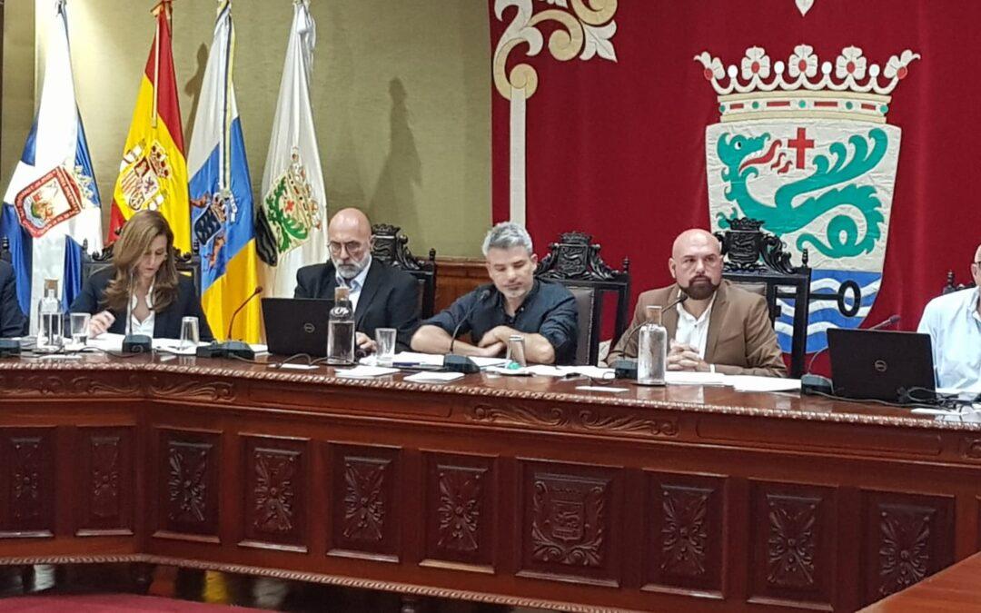 El ejecutivo portuense comienza a elevar al pleno sus compromisos con la ciudadanía y estructura su gobierno sin ningún voto en contra.