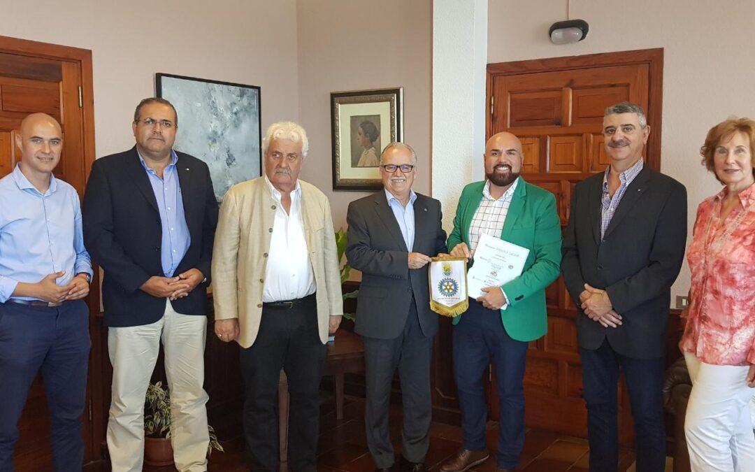 Encuentro con el Rotary Club de Puerto de la Cruz
