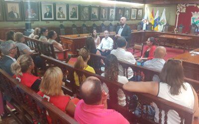 Reunión con el tercer sector de Puerto de la Cruz