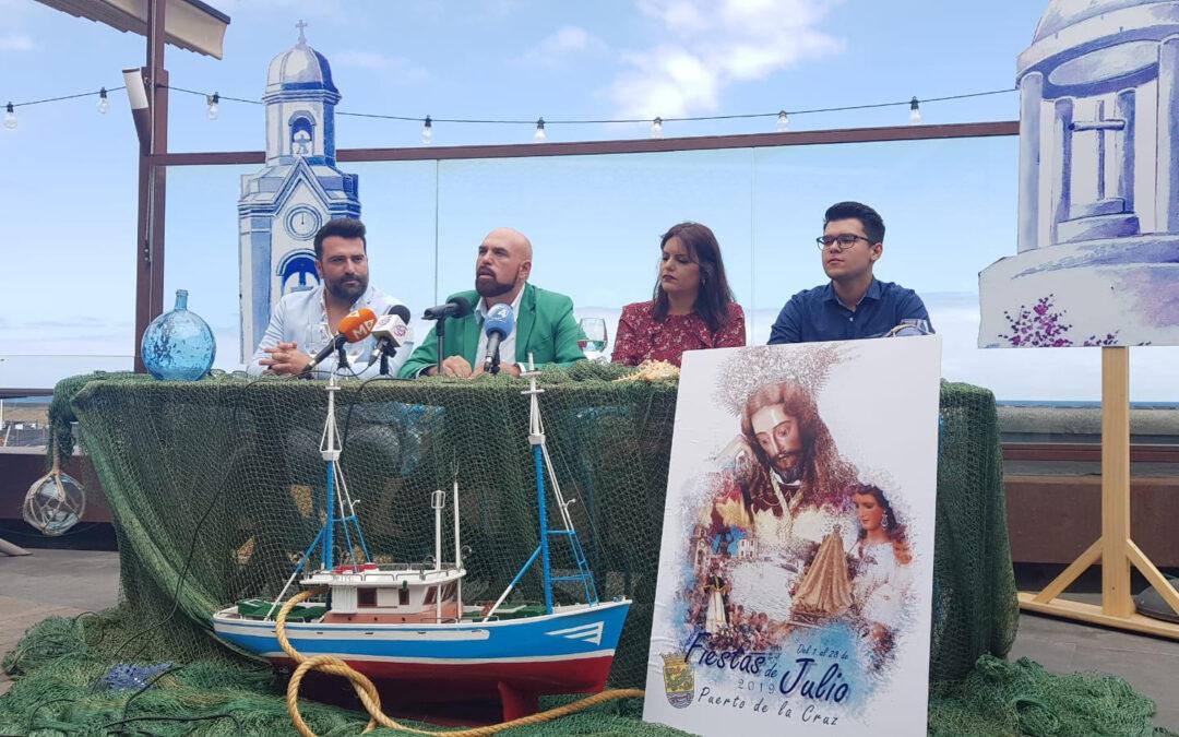 """Puerto de la Cruz es """"pasión y devoción"""" con sus Grandes Fiestas de julio"""