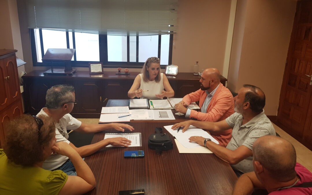 Reunión con la nueva federación de asociaciones vecinales