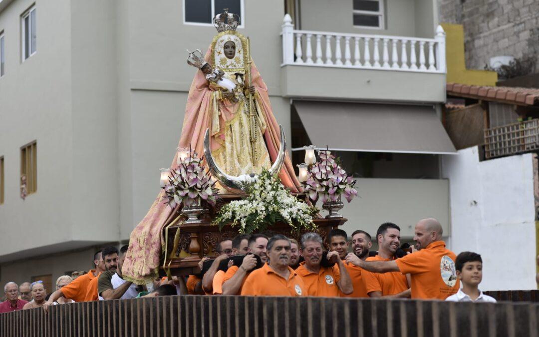 La Vera celebra a la Virgen de Candelaria