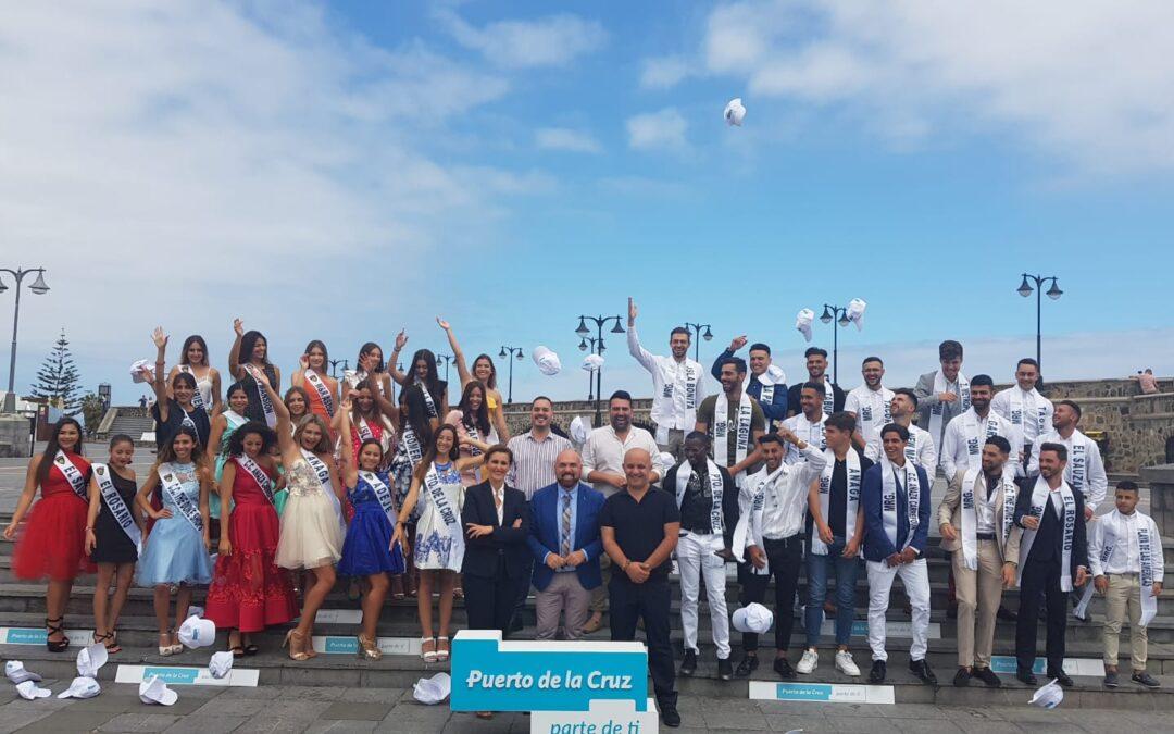 Recepción a los candidatos y candidatos de Mister Global y Miss Supranational Tenerife