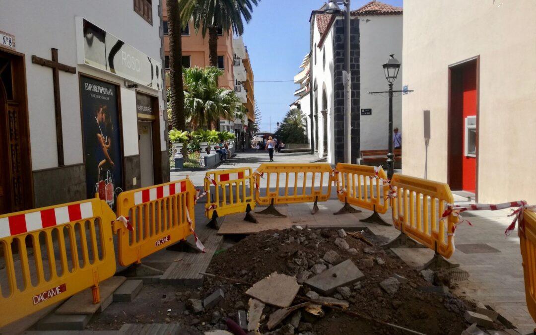 Este lunes comienza la última fase de las obras de la calle San Juan, entre Quintana y Santo Domingo