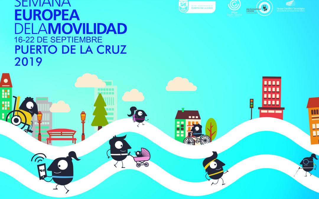 Puerto de la Cruz se adhiere a la Semana Europea de la Movilidad