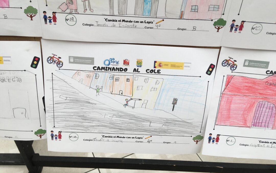 Concurso escolar de dibujo 'Cambia el mundo con un lápiz'