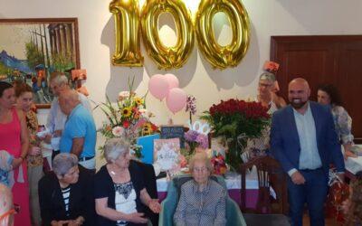 Una portuense centenaria