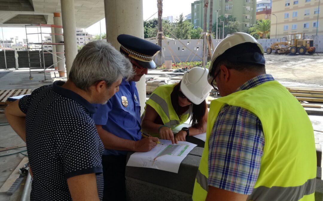 El Ayuntamiento trabaja para reducir las consecuencias de las dificultades de maniobrabilidad en la nueva estación