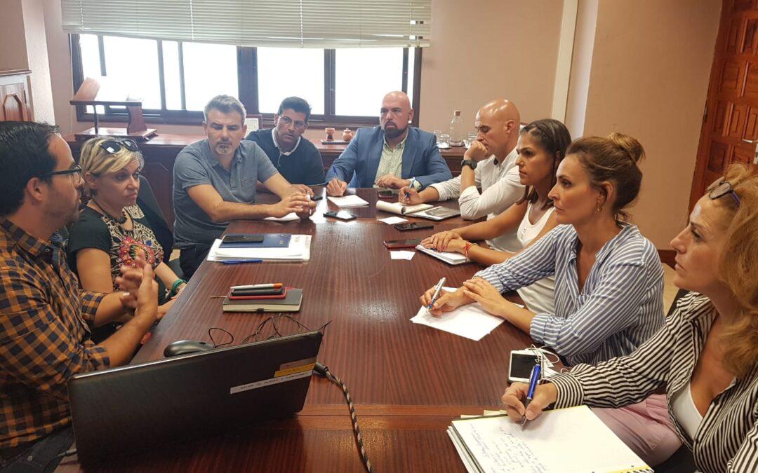 Reunión de trabajo con Sinpromi
