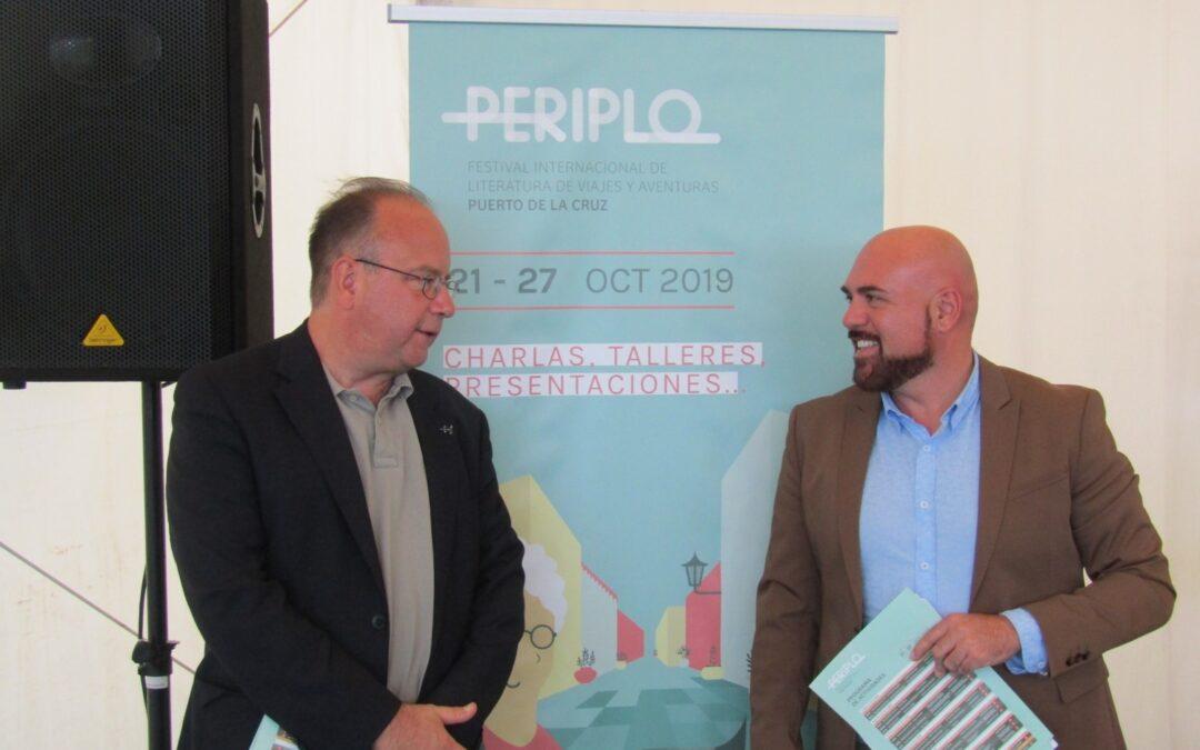 El Festival Periplo regresa a su origen para que destacados escritores y periodistas compartan en Puerto de la Cruz el viaje de sus vidas