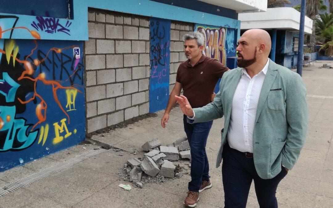 El Ayuntamiento de Puerto de la Cruz pone a disposición del Cabildo los terrenos para la construcción del Centro Insular de Natación