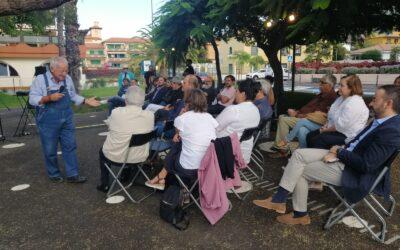 Jornada de accesibilidad en el Parque Laurel de Puerto de la Cruz