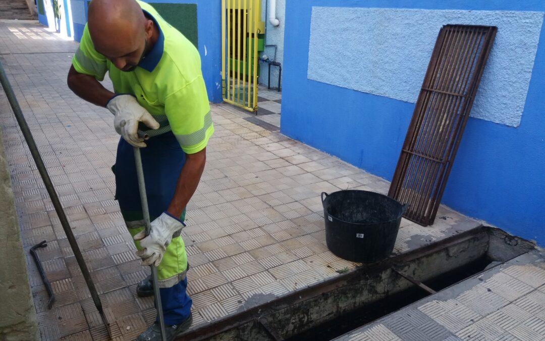 Puerto de la Cruz limpia en el último trimestre el 100% de los imbornales de las zonas inundables del municipio
