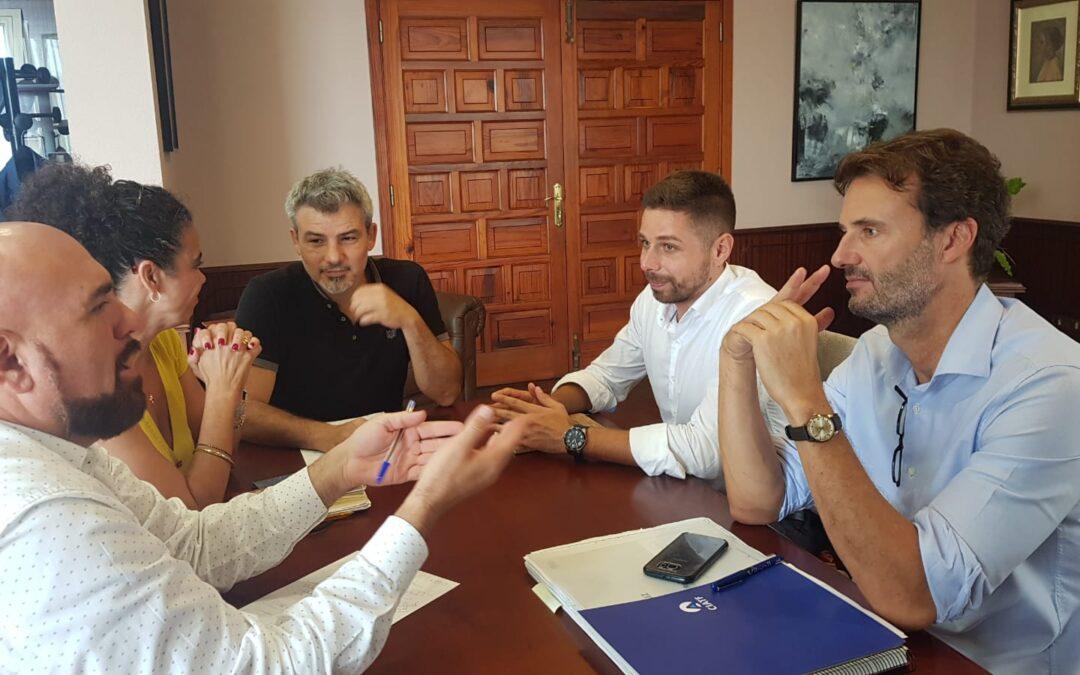 Ayuntamiento y Consejo Insular de Aguas ponen en marcha la redacción del proyecto de ampliación y mejora de la EDAR del Valle de La Orotava