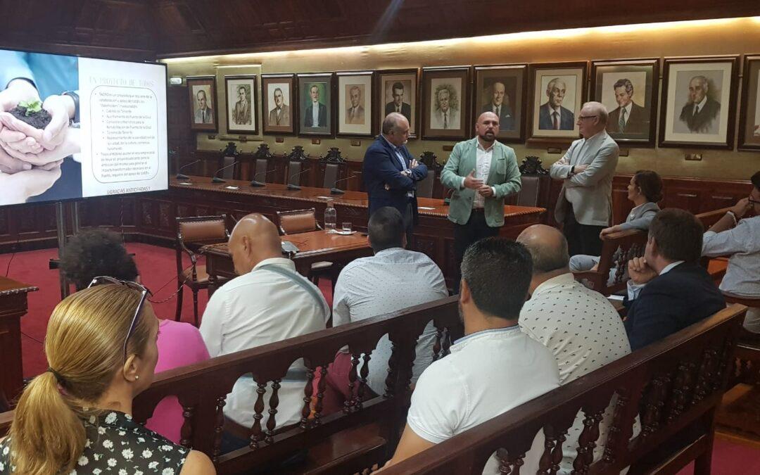 Presentación a la corporación del proyecto del Hotel Taoro