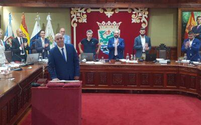 Toma de posesión del nuevo concejal del Partido Popular D. Felipe Rodríguez Villalba