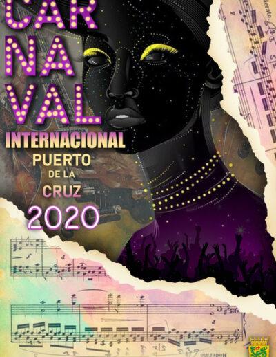 10 - Auténtica noche de carnaval en Puerto de la Cruz