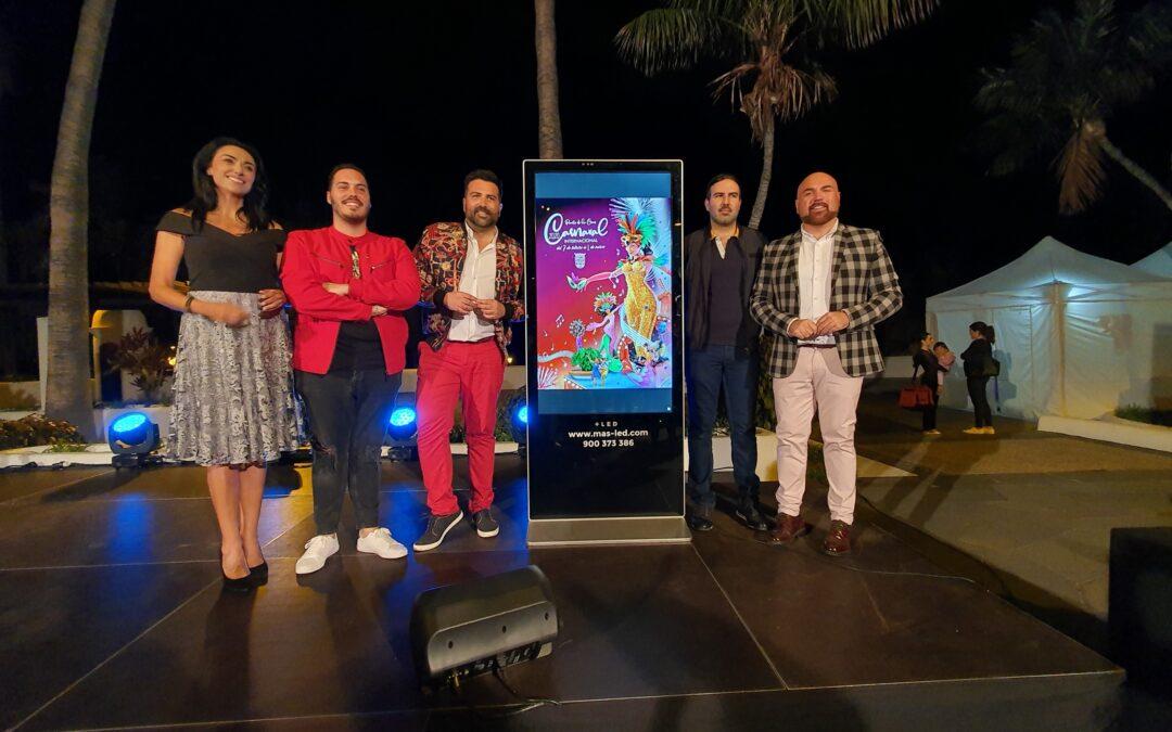 Resultado de imagen de elegido nuevo cartel del carnaval de puerto de la cruz