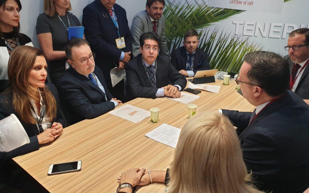 Puerto de la Cruz trabaja en la WTM de cara a la mejora de las previsiones del destino para 2020