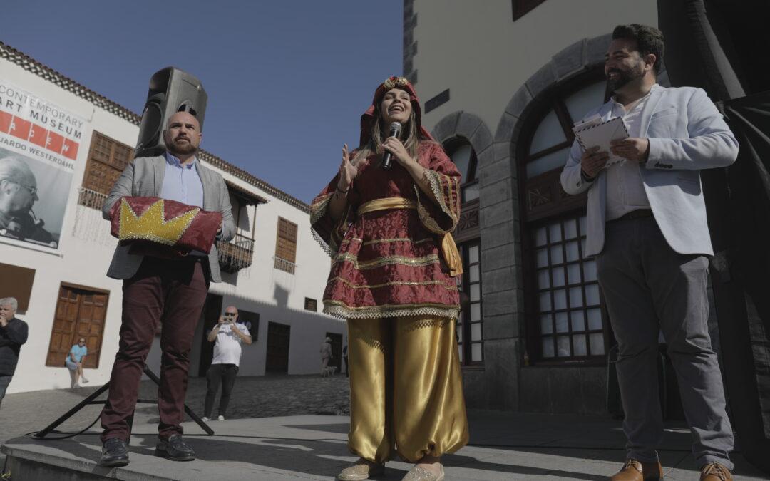 Puerto de la Cruz recibe a la embajadora de SSMM los Reyes Magos