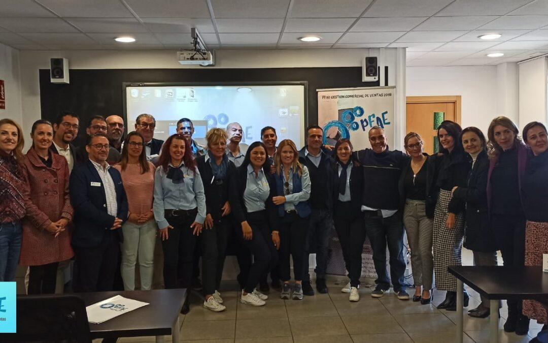 El personal del PFAE de Puerto de la Cruz celebra un foro de empleo para la formación en gestión comercial