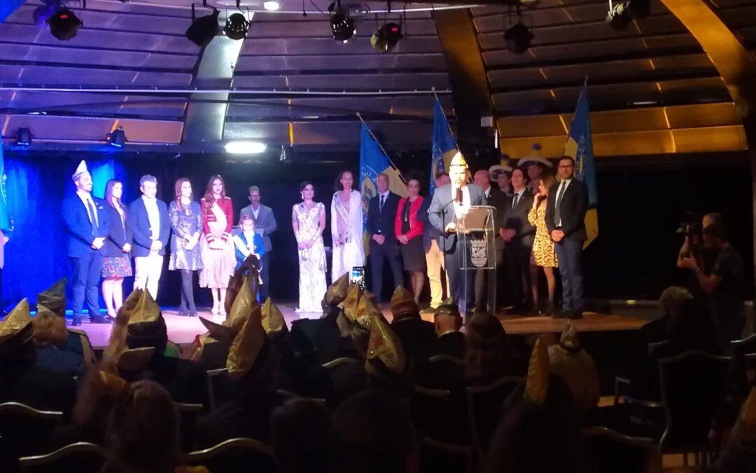Puerto de la Cruz recibe de forma oficial a las delegaciones alemanes en la 48º edición del hermanamiento entre los carnavales