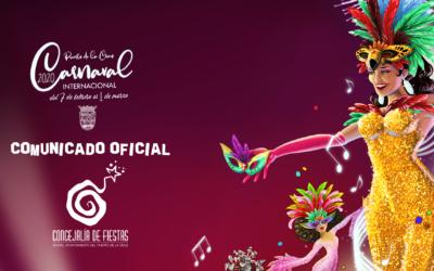 Nueva Programación del Carnaval