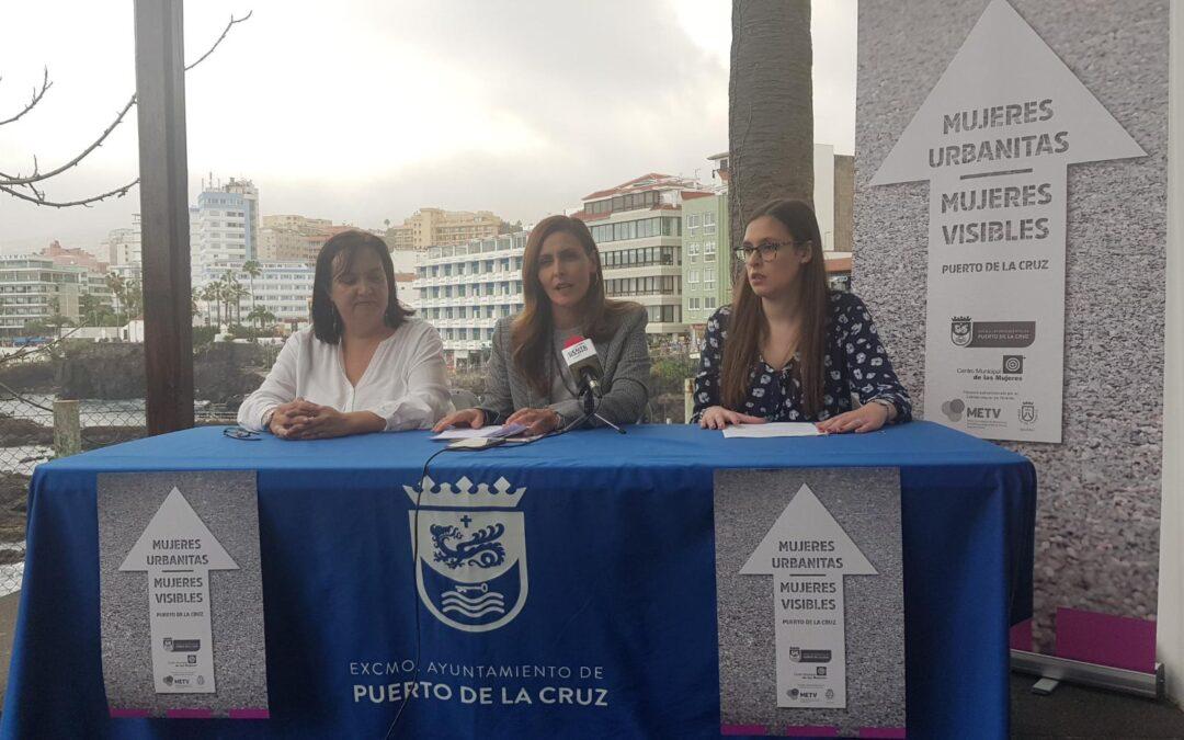 Mujeres Urbanitas, un plan de visibilidad femenina pionero en el urbanismo de Puerto de la Cruz