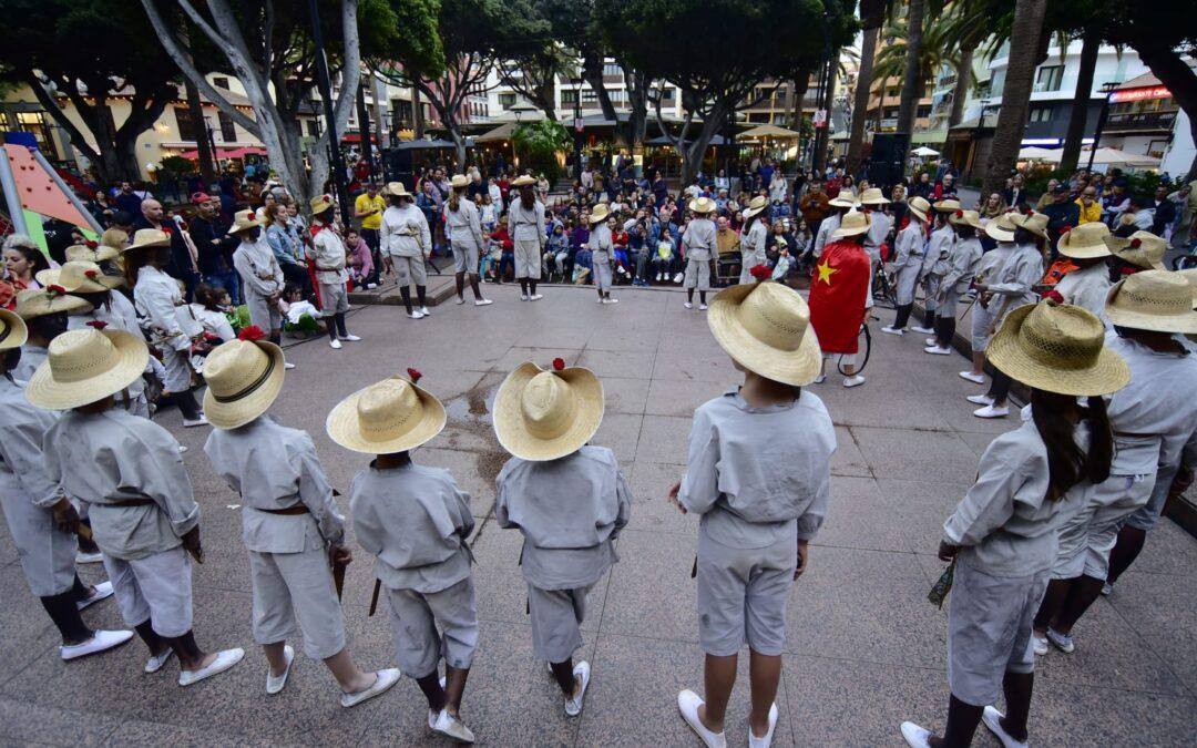 Puerto de la Cruz celebra el ritual Mataculebra