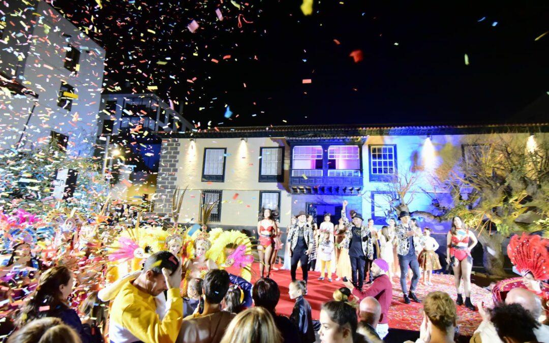 Más de un millar de personas en la apertura del Carnaval del Puerto de la Cruz