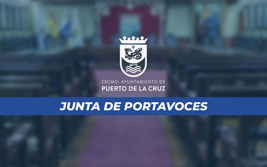 Puerto de la Cruz celebra su Junta de Portavoces de forma telemática