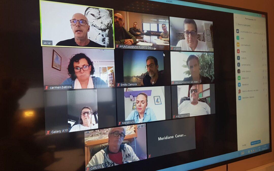 Puerto de la Cruz mantiene un encuentro con representantes de agencias de viajes de la ciudad