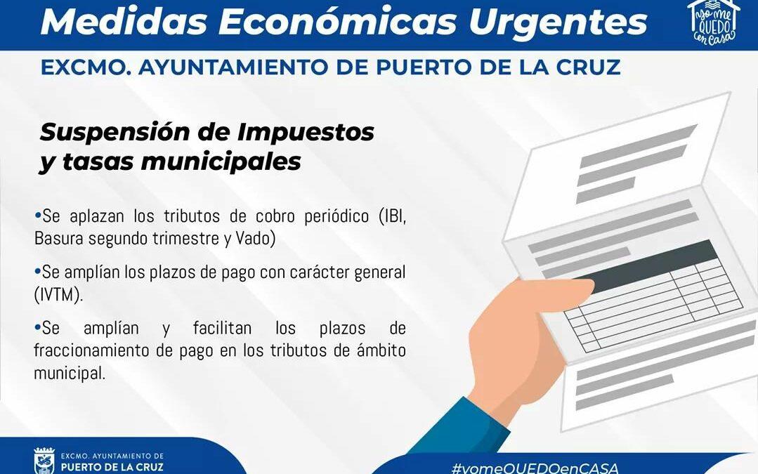 #MedidasEconómicas Te recordamos las medidas económicas y en las que se siguen trabajando para dar cumplida respuesta a esta crisis sanitaria.