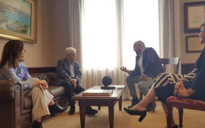 Puerto de la Cruz abre ronda de reuniones con grandes empresarios de la ciudad