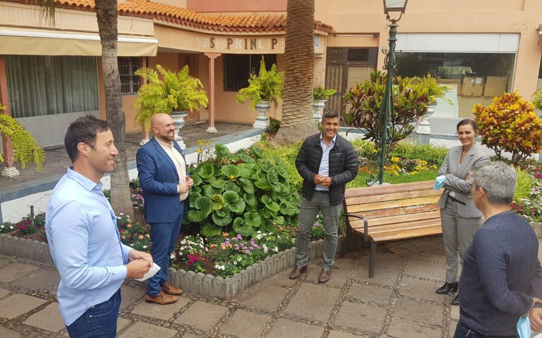 Puerto de la Cruz valora el proyecto para el nuevo Hotel Los Príncipes