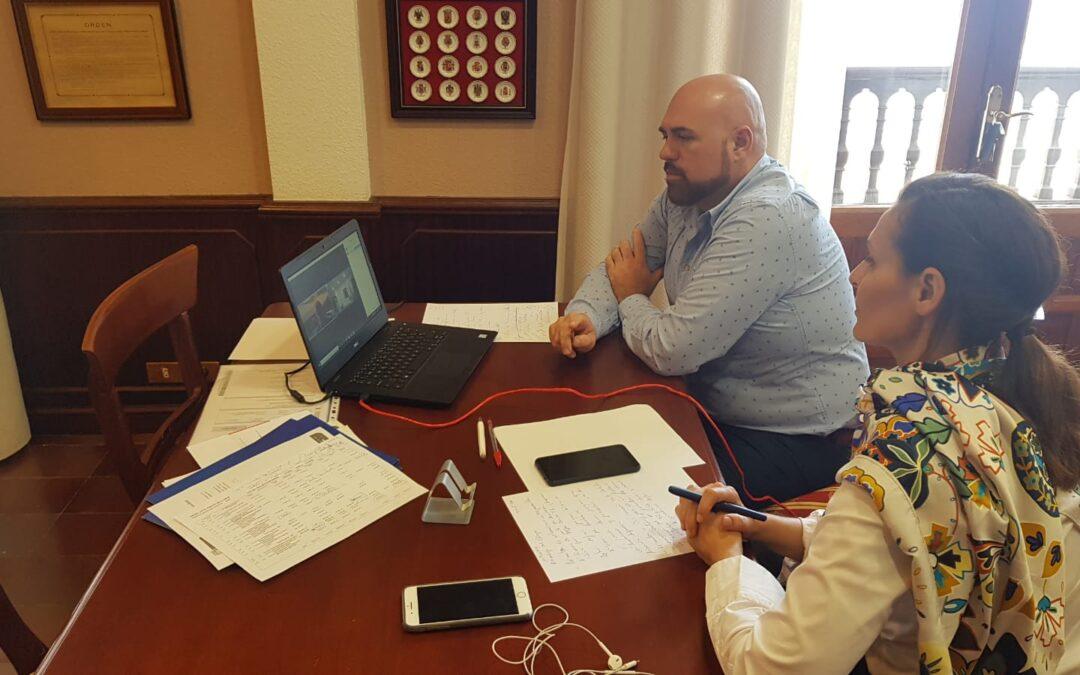 Puerto de la Cruz se reúne con el responsable de la reforma integral del Hotel Taoro