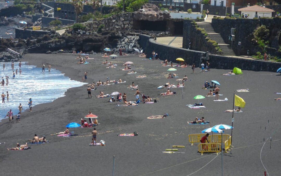 Puerto de la Cruz valora positivamente la apertura de zonas de baño al público