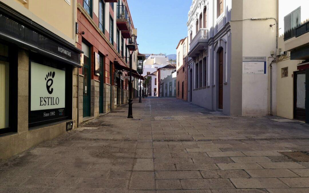Puerto de la Cruz permitirá ampliar temporalmente la superficie destinada a terrazas siempre que sea viable