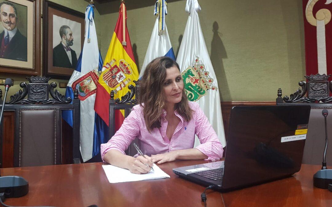 Puerto de la Cruz afianza su apoyo económico al tejido empresarial ejecutando las medidas anunciadas