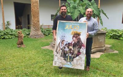 Fervor y Esperanza, cartel de las Grandes Fiestas de Julio 2020 de Puerto de la Cruz