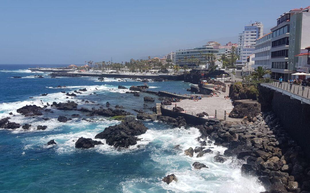 Puerto de la Cruz obtiene la bandera azul para Playa Jardín y San Telmo