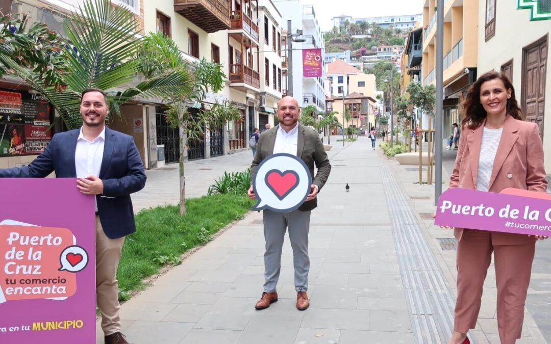 Puerto de la Cruz lanza una campaña para apoyar al comercio local