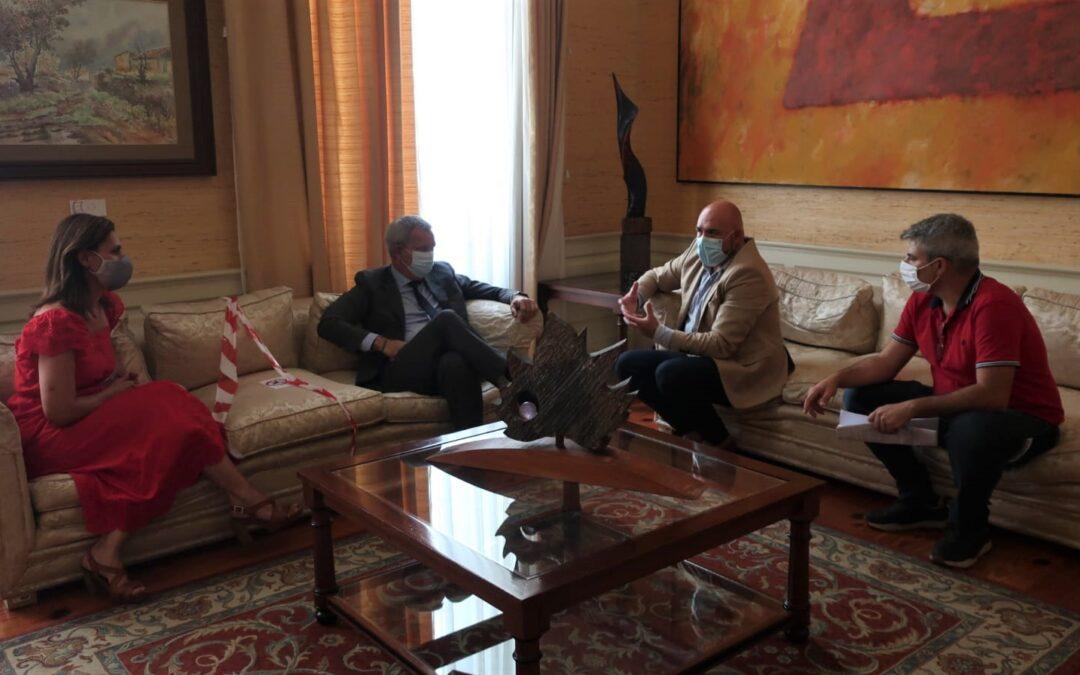Puerto de la Cruz se reúne con la consejería de Obras Públicas para coordinar junto al Gobierno de Canarias el proyecto del nuevo muelle