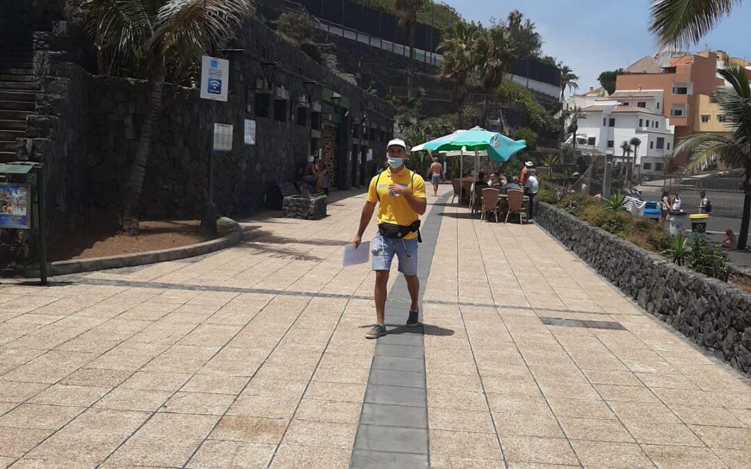 El PFAE de Turismo de Puerto de la Cruz asesora y atiende en el mes de agosto a 5178 personas