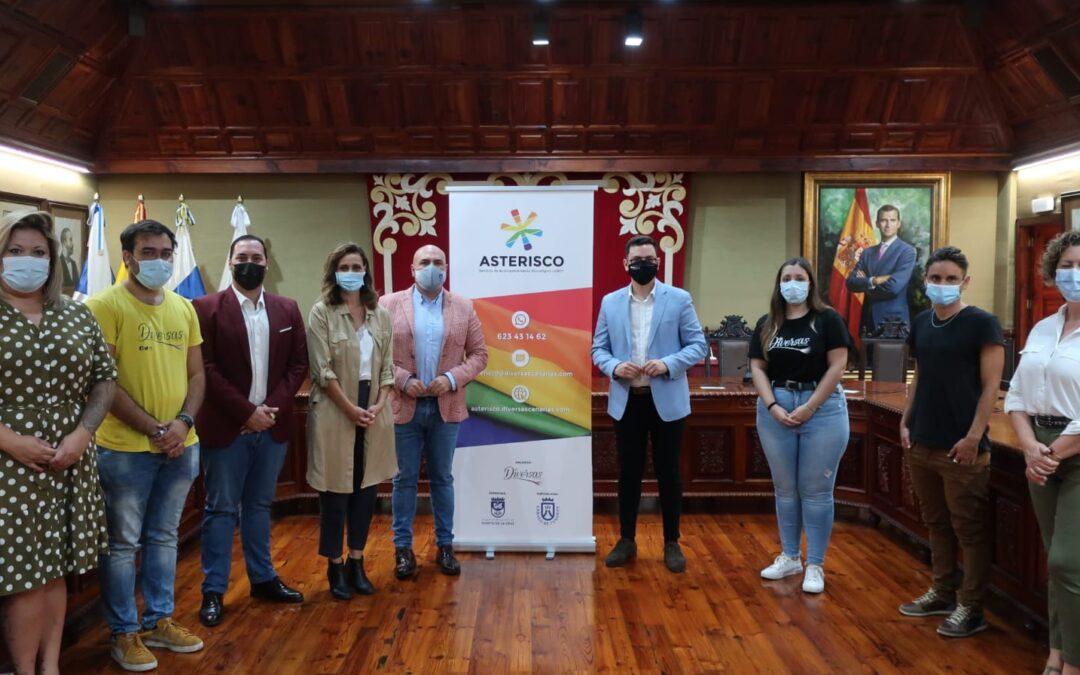 Asterisco es el nuevo servicio de acompañamiento psicológico para las personas LGBTI* y sus familias