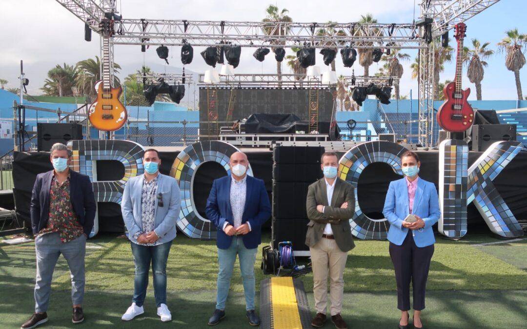 Vuelve la mejor música en directo a Puerto de la Cruz con Peñón Rock