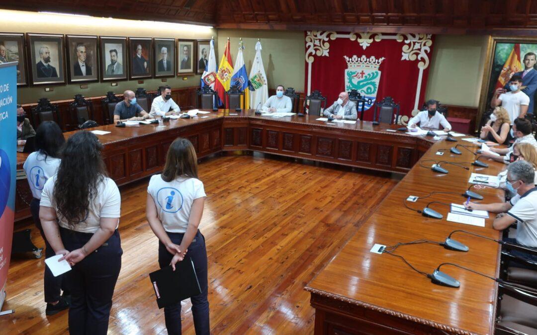 Puerto de la cruz reúne al consejo sectorial de Comercio con vistas a la campaña Navideña