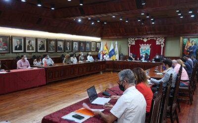 Puerto de la Cruz aprueba modificaciones de crédito para ajustar el presupuesto en las áreas de Derecho Social, Cultura y Pamarsa